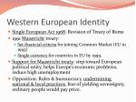 western european identity