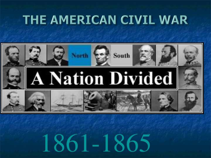 the american civil war n.