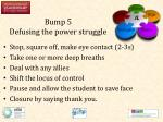 bump 5 defusing the power struggle1