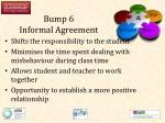 bump 6 informal agreement1