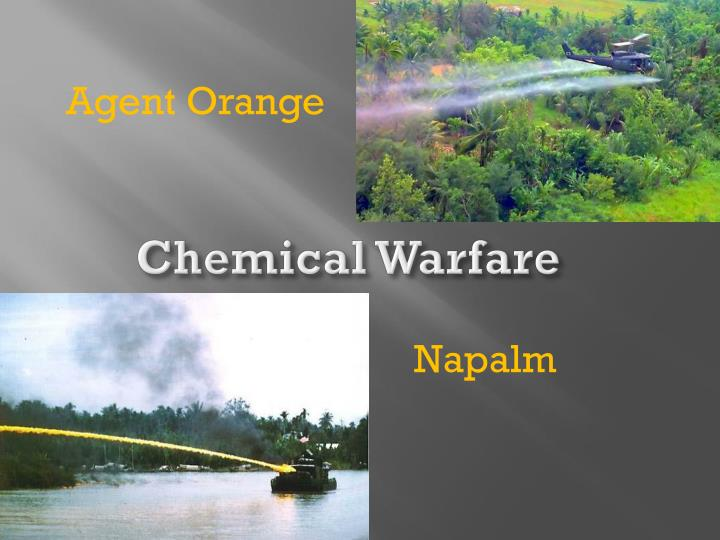 chemical warfare n.