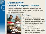 diplomas now lessons programs schools