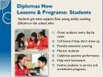 diplomas now lessons programs students