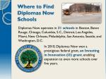 where to find diplomas now schools