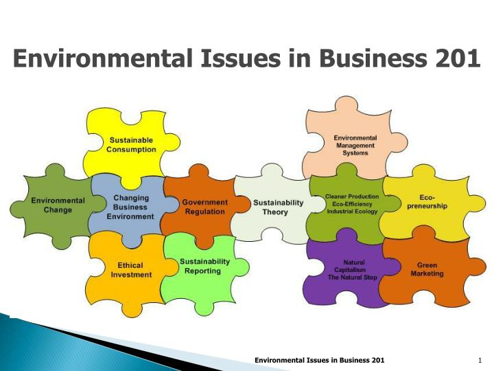 business environmental issues Environmental issues constitute a significant driver of innovation in business   schools) joint teaching group « environmental challenges of business.
