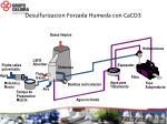 desulfurizacion forzada humeda con caco3