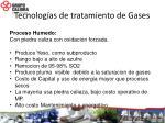 tecnolog as de tratamiento de gases