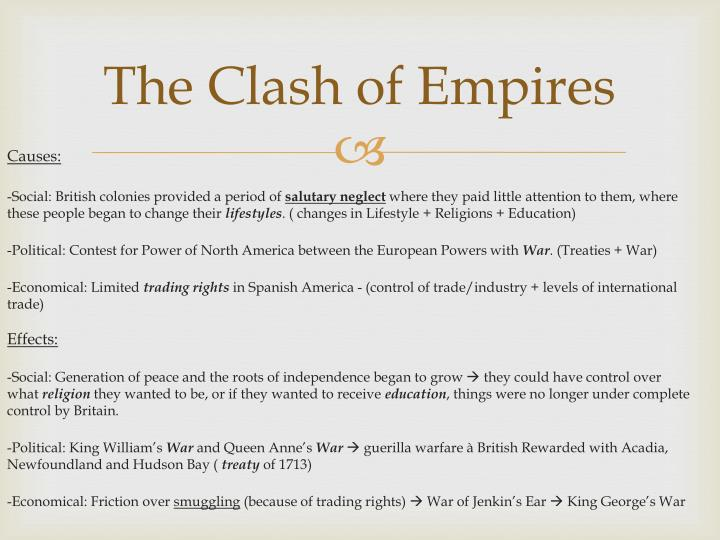 the clash of empires n.
