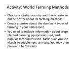 activity world farming methods