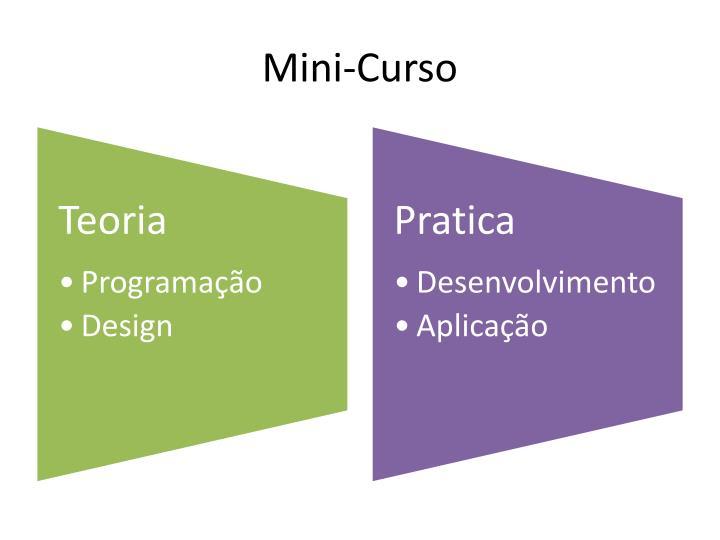 Mini curso