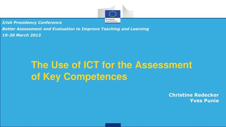 the use of ict for the assessment of key competences n.