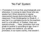 no fail system