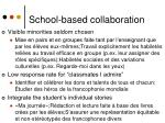 school based collaboration