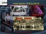 laser source 10 w to 200 w