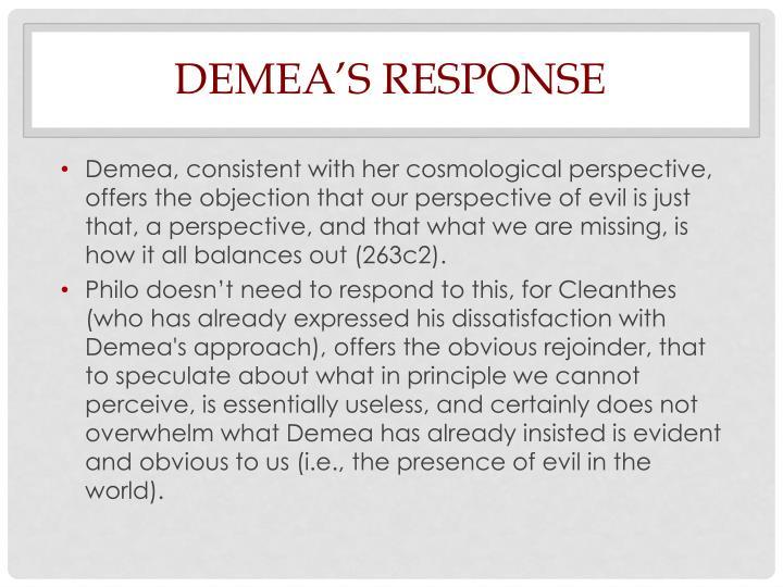 Demea