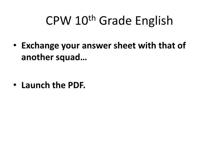 CPW 10