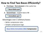 how to find two bases efficiently