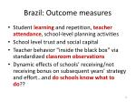 brazil outcome measures