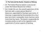 2 the fed and the banks creators of money1