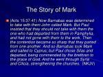 the story of mark1