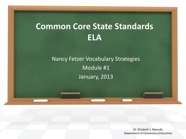 common core state standards ela n.