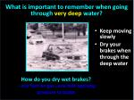 what is important to remember when going through very deep water