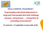what is mental toughness