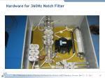 hardware for 360hz notch filter