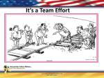 it s a team effort