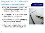 using emma and aim for dod pcols29