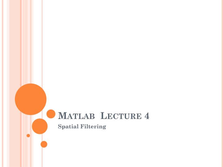 matlab lecture 4 n.