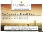 the economics of health care