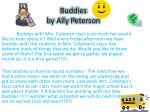 buddies by ally p eterson