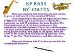 kp band by colton