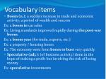 vocabulary items2