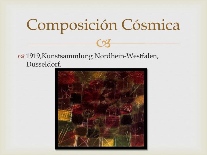 Composición Cósmica