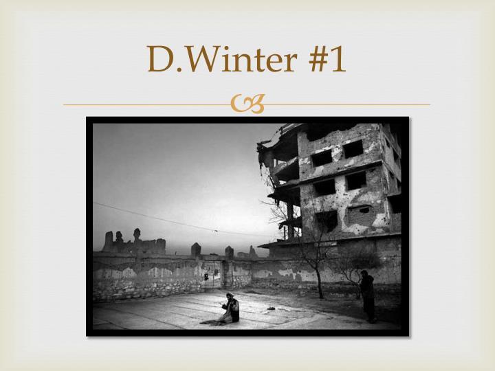 D.Winter
