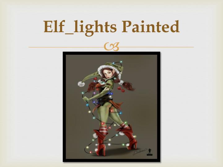 Elf_lights