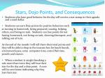 stars dojo points and consequences