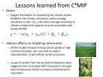 lessons learned from c 4 mip