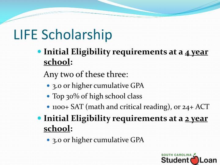 LIFE Scholarship