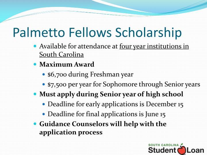 Palmetto Fellows Scholarship