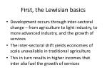first the lewisian basics