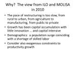 why the view from ilo and molisa in 2010
