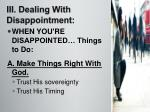 iii dealing with disappointment1