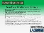 penalties goalie interference
