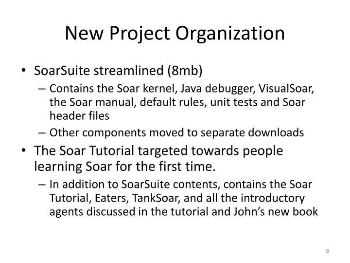 New Project Organization