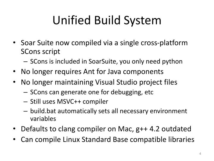 Unified Build System