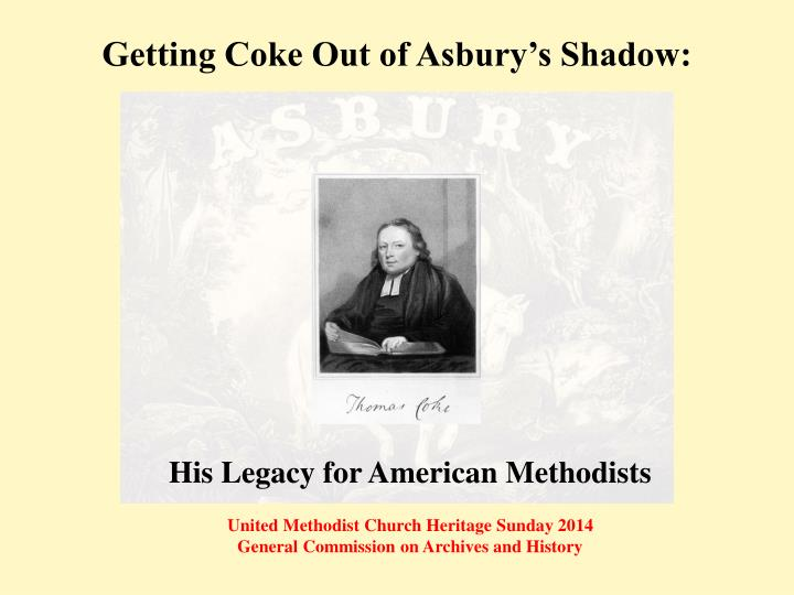 getting coke out of asbury s shadow n.