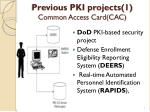 previous pki projects 1 common access card cac